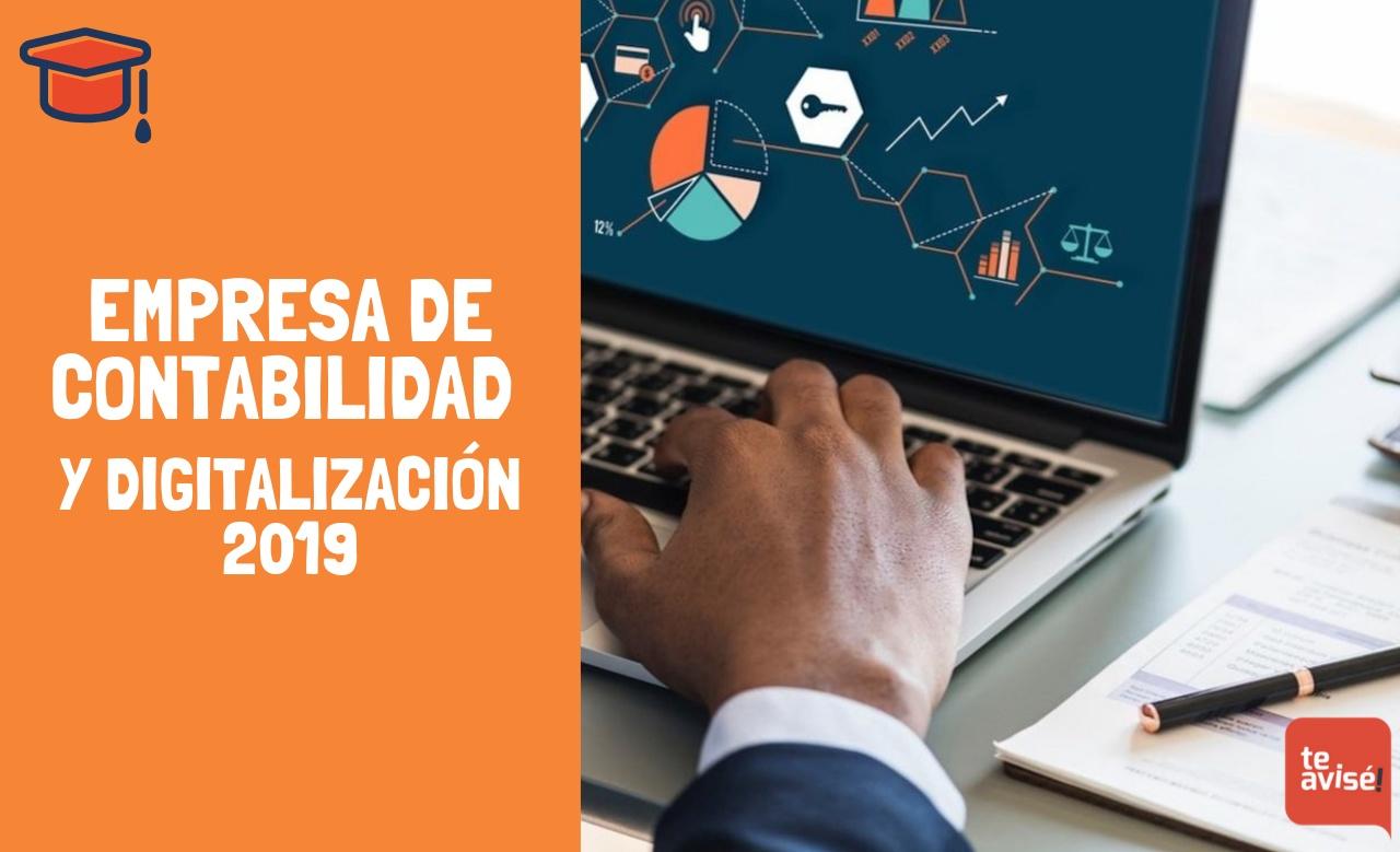 Empresa de contabilidad y digitalización 2019
