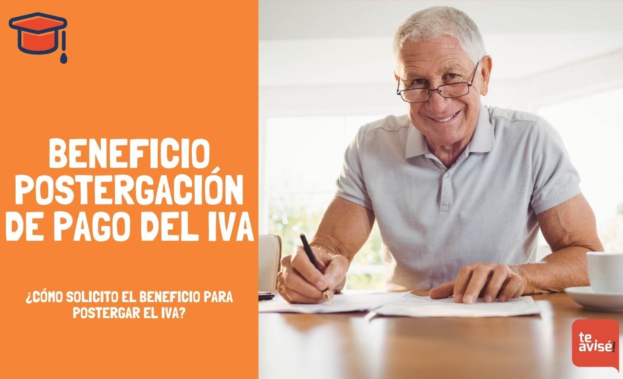 Beneficio postergación de pago de IVA